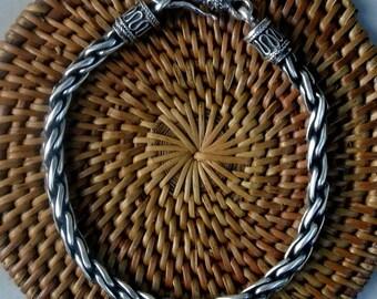 Sterling Silver Balinese Bracelet