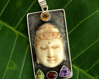 Sterling Silver Balinese Pendant
