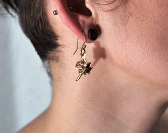 Snake Spine Earings