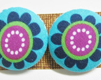 Hippie Flower Buttons