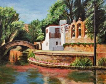 Arneson River Theater, San Antonio Giclee Print