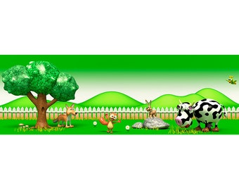 Stickers countryside A016 - Wall decals campagne A016
