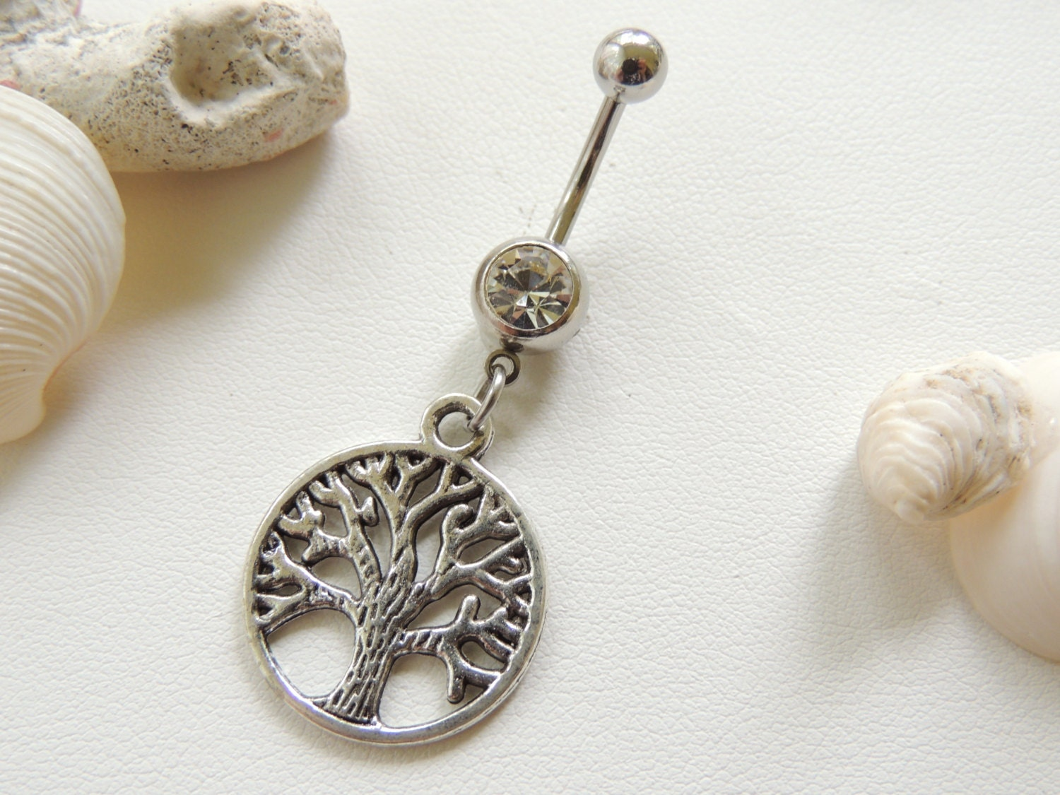 tree of belly button ring tree of jewelry belly