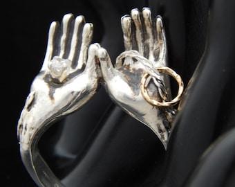 Open Hands Ring