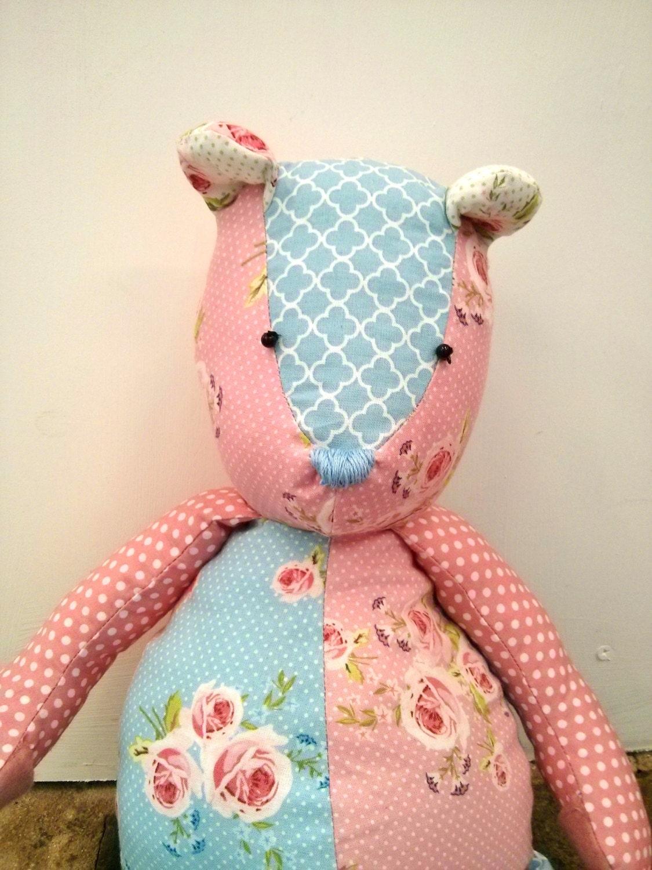 Patchwork Teddy Bear SEWING PATTERN