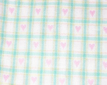 Dobby Jacquard Heart Fabric