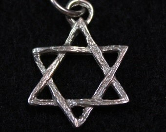 Star of David -  Sterling Silver Pendant