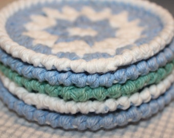 The Sandy Toes Beach Cottage Crochet Rug Pattern Shabby Chic