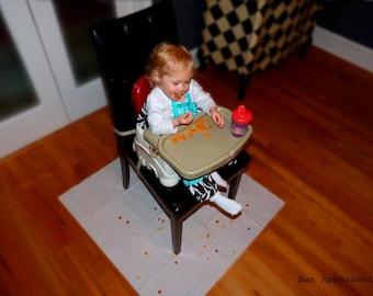 High Chair Mat Etsy