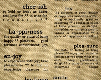 INSTANT DOWNLOAD-Expressions-Emotional-Description-Dictionary Word Definition-Happiness-Smile-Transfer-Printable-Digital Sheet- No.407