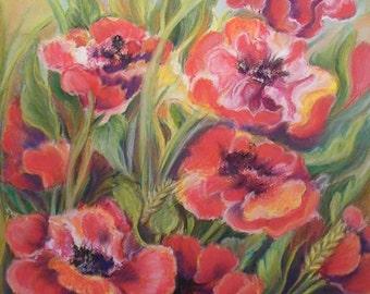 Soft Pastel Painting