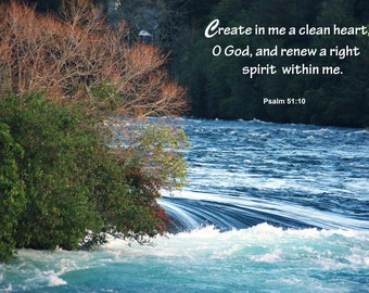 PSALM 51:10 ...The Prayer of Confession and Repentance