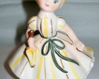 Girl Figurine - Vintage