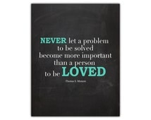 Love quote printable - gift for newlyweds - relationship print - inspirational printable - motivational wall decor - lds printable - lds art