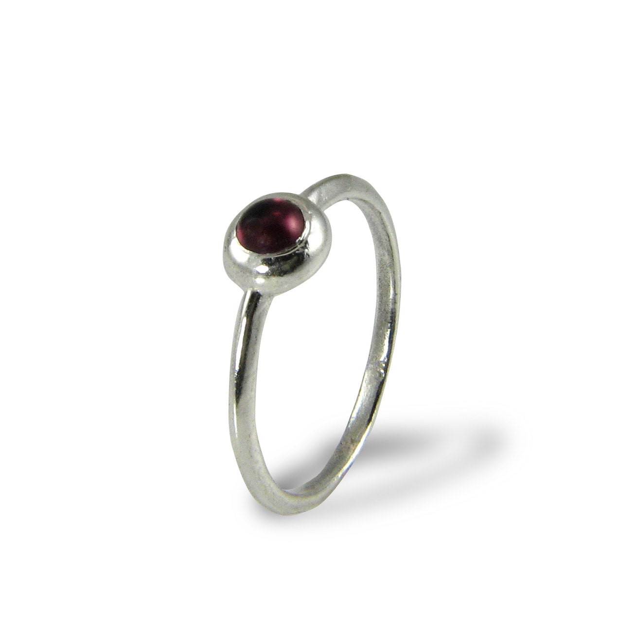dainty engagement ring garnet engagement ring garnet