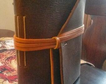 Classic handmade leather journal