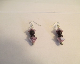 Earrings: The Color Purple.