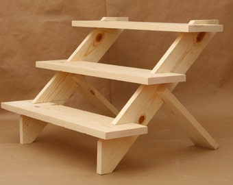 3 Tier Display Shelf Shelves Store