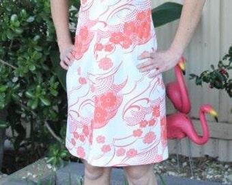 Classic 1960s Scooter Dress - Size Small - Original Bormann Kleidung