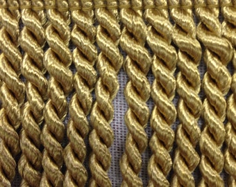 Gold Bullion Fringe - Home Decor Fringe - Accent Trim