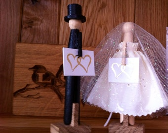 Wedding table number holder . Table decoration, place setting holder