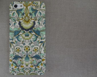 Liberty fabric iPhone & Samsung Galaxy case - William Morris Lodden Green