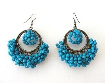 Blue Joy Earrings