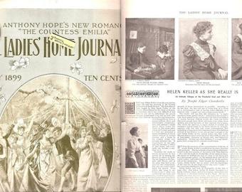 Ladies' Home Journal / Vintage Fashion Magazine / May 1899