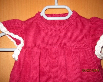 Hand made beautyful baby dress,
