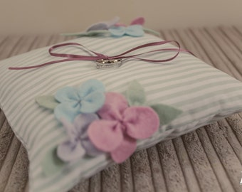 Handmade to Order Wedding Ring Pillow