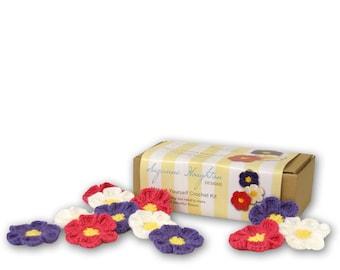 Make it Yourself Crochet Kit Flowers