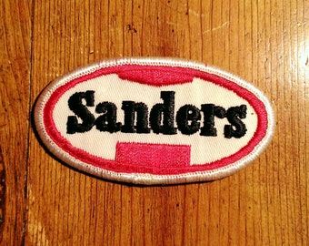 Vintage 1980's Wiley Sanders Trucker Patch  Embroidered Patch