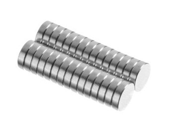 30 Pack - 1/4 x 1/16 Inch  (6.4 x 1.6 mm) N35, Collar Stay Neodymium Rare Earth Magnetic Discs, Strong Craft Disc Magnets