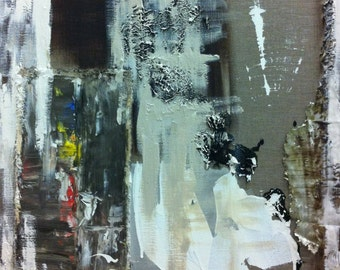 Small, Abstract, Oil Painting