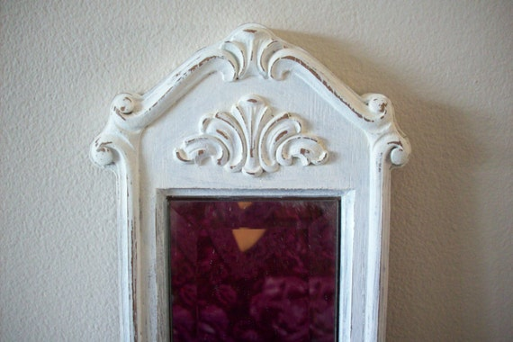 Upcycled Vintage Homco Wall Planter Mirror By