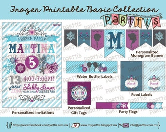 Frozen Party Printable Collection BASIC