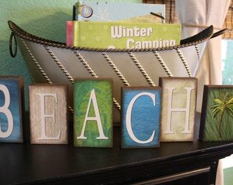 BEACH Block Set- Tropical