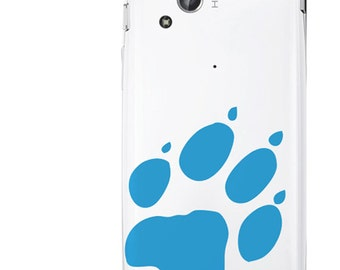Dog foot print Phone decal sticker High quality Vinyl iphone sticker or any mobile phone, available sizes