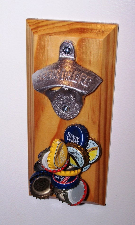 Magnetic Bottle Opener And Cap Catcher By Stuffyoumightenjoy