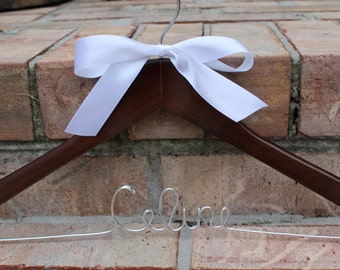 Bride Hanger or Personalized Hanger for Wedding Dress or Wedding Party Gifts