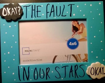 The fault in our stars picture frame