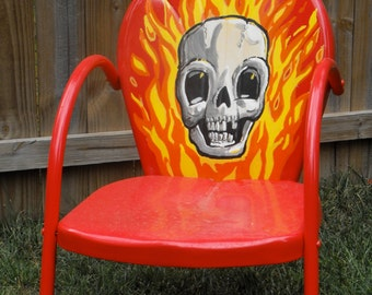 Popular Items For Metal Lawn Chair On Etsy