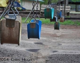 Nature Photography, Landscape Photography, Swing Set Photography, Swing Warning