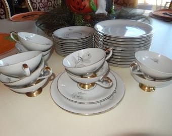 WEST GERMANY BAVARIA Tea Set