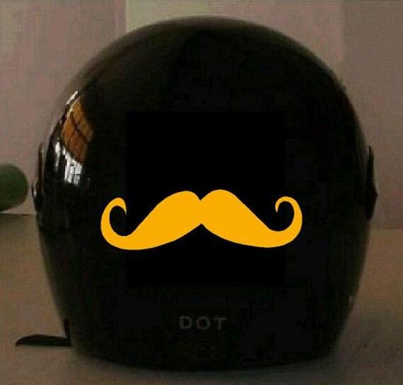 DOT Reflective Safety Decals Helmet Decals Traffic Decals - Motorcycle helmet decal