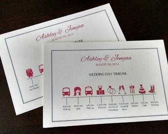 Calendrier fête nuptiale