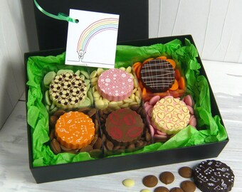 TASTING BOX of Chocolate Flavours Gift Box - Thank You Box of Chocolates - Birthday Gift Box of Chocolates - Chocolates for Special Occasion