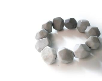 Concrete Ombre Boulder Bracelet