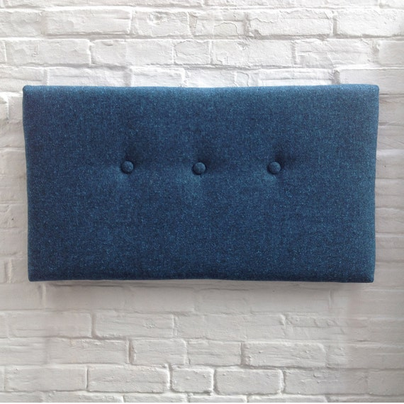 Fabric covered headboard single by LovenestUK on Etsy