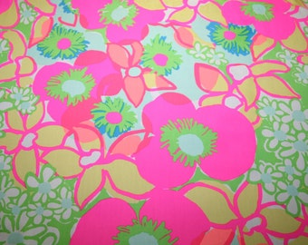 Rare and Hard to Find~ ICE CREAM SOCIAL~ cotton/poplin ~Lilly Pulitzer fabric